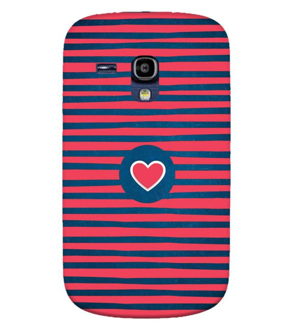 Trendy Heart Back Cover for Samsung Galaxy S3 Mini
