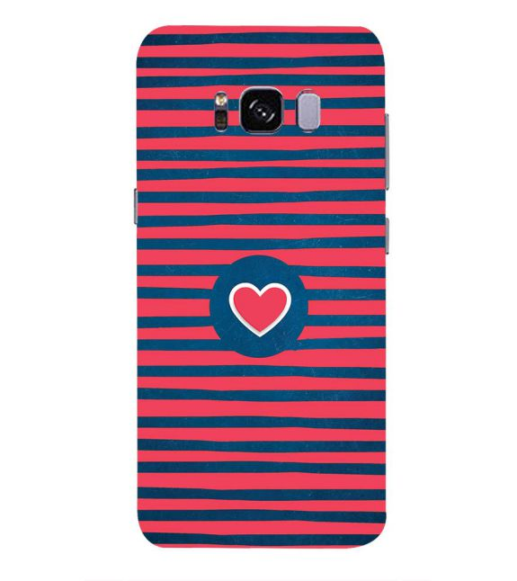 Trendy Heart Back Cover for Samsung Galaxy S8