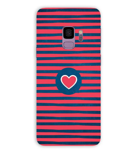 Trendy Heart Back Cover for Samsung Galaxy S9