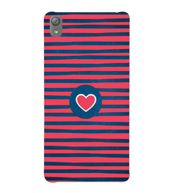Trendy Heart Back Cover for Sony Xperia E5