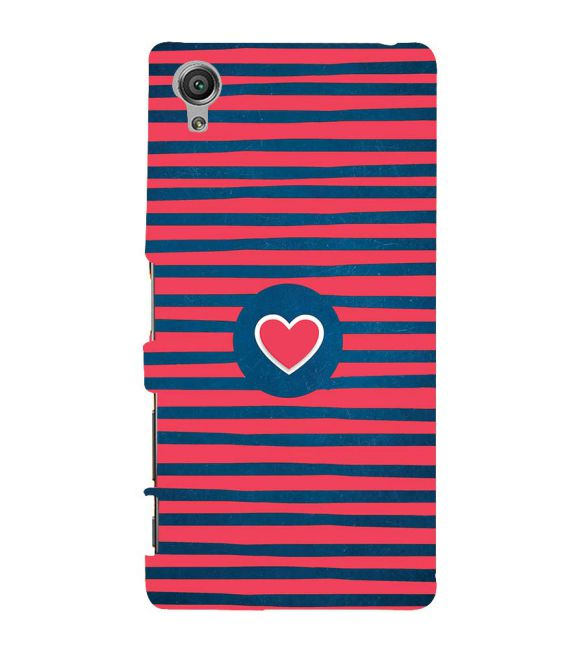 Trendy Heart Back Cover for Sony Xperia X