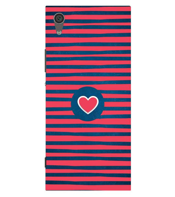 Trendy Heart Back Cover for Sony Xperia XA1 Plus