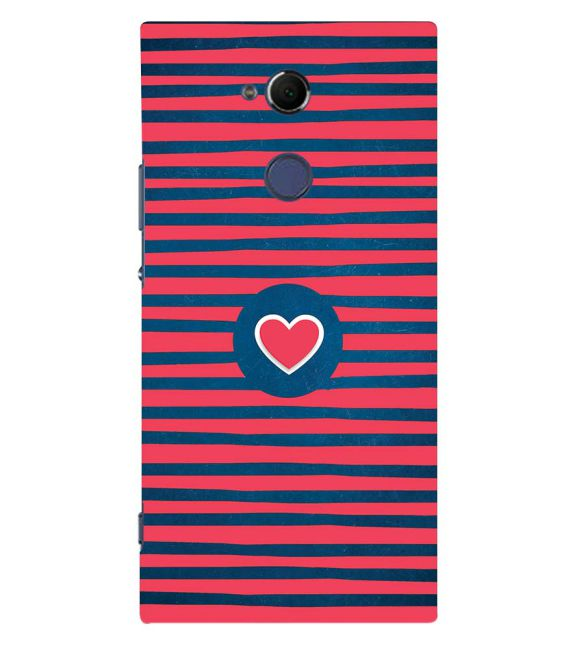 Trendy Heart Back Cover for Sony Xperia XA2 Ultra