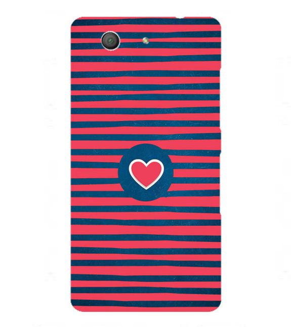 Trendy Heart Back Cover for Sony Xperia Z3+ and Xperia Z4