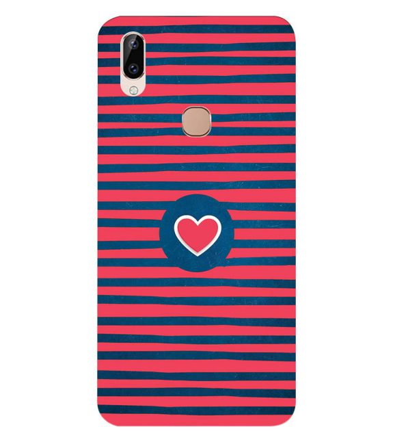 Trendy Heart Back Cover for Vivo Y83 Pro