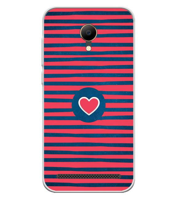 Trendy Heart Back Cover for VOTO V12