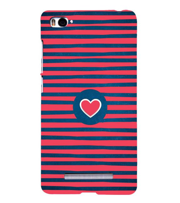 Trendy Heart Back Cover for Xiaomi Mi 4i