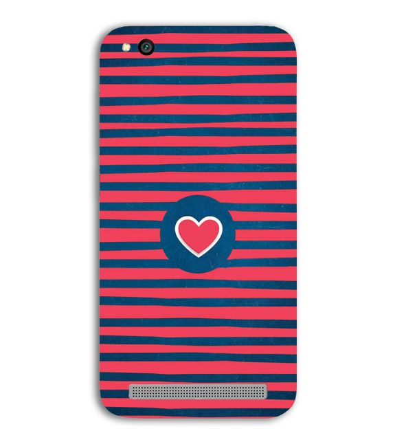 Trendy Heart Back Cover for Xiaomi Redmi 5A