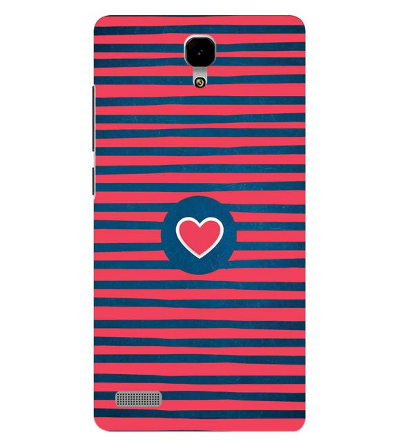 Trendy Heart Back Cover for Xiaomi Redmi Note 4G