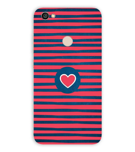 Trendy Heart Back Cover for Xiaomi Redmi Y1