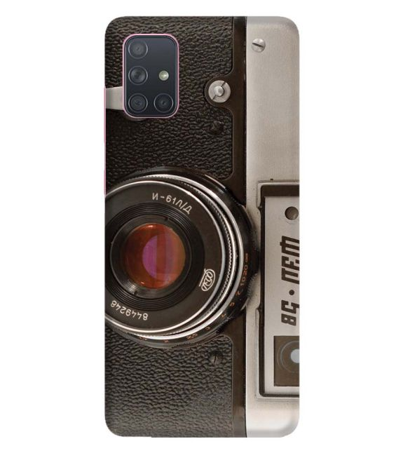Vintage Camera Back Cover for Samsung Galaxy A71