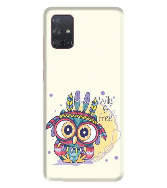 Wild & Free Back Cover for Samsung Galaxy A71