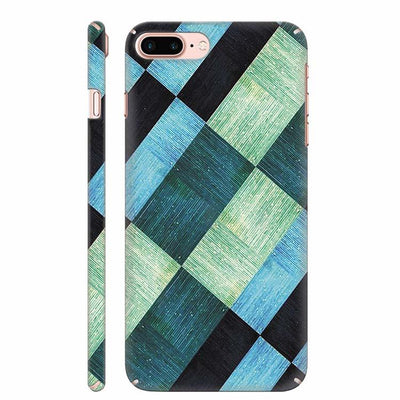 3D Tiles Back Cover for Apple iPhone 8 Plus