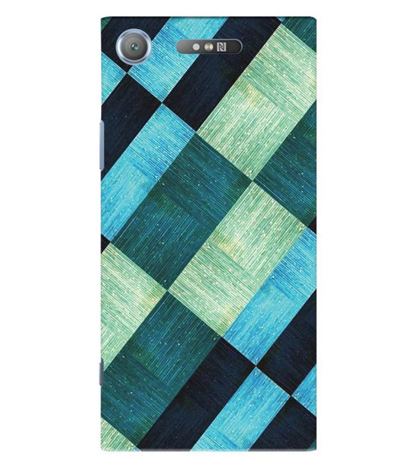 3D Tiles Back Cover for Sony Xperia XZ1