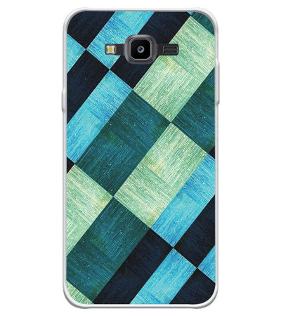 new product d7a89 dc59e 3D Tiles Soft Silicone Back Cover for Samsung Galaxy J7 NXT