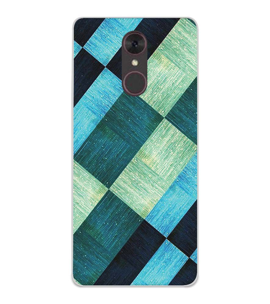 huge discount b23fc 4a5c9 3D Tiles Soft Silicone Back Cover for Spice F311