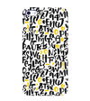 Alphabets And Numbers Back Cover for Apple iPhone 4 : 4S
