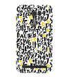 Alphabets And Numbers Back Cover for Asus Zenfone 2 Laser ZE550KL