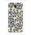 Alphabets And Numbers Back Cover for Asus Zenfone 3 Max ZC520TL