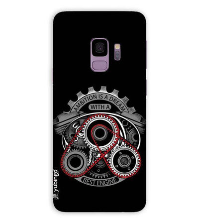 Ambition Is a Dream Back Cover for Samsung Galaxy S9