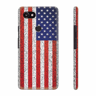 America Back Cover for Google Pixel 2 XL (6 Inch Screen)