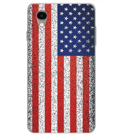 America Back Cover for ITEL PWO Pro