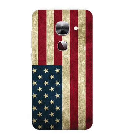American Flag Back Cover for LeEco Le 2s