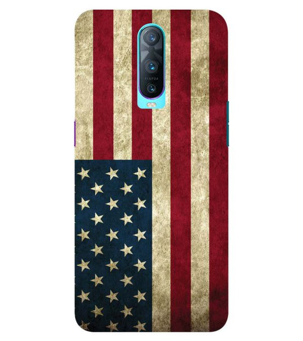 info for 1650a b1987 American Flag Back Cover for Oppo RX17 Pro