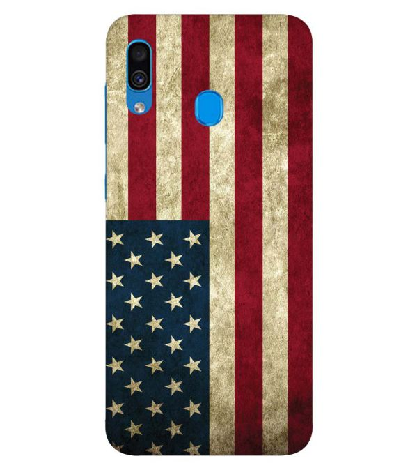 American Flag Back Cover for Samsung Galaxy A30