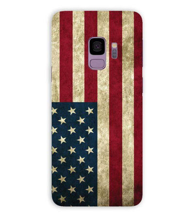 American Flag Back Cover for Samsung Galaxy S9