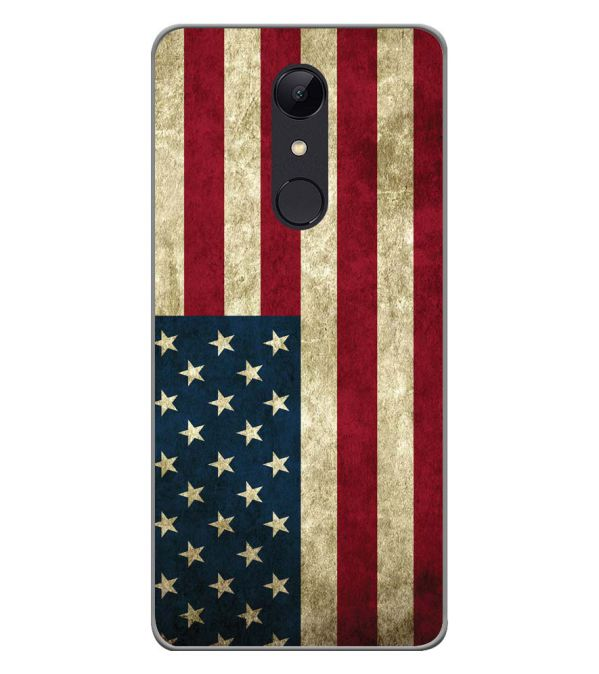 hot sale online a2466 bdd49 American Flag Soft Silicone Back Cover for Micromax Selfie 2 Q4311