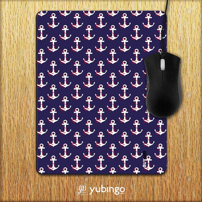 Anchor Pattern Mouse Pad-Image2
