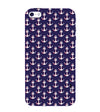Anchor Pattern Back Cover for Apple iPhone 4 : 4S