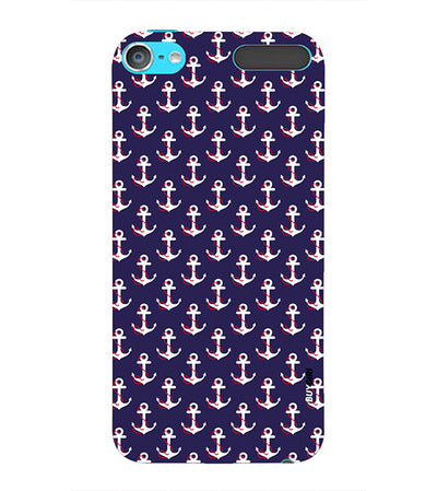 Anchor Pattern Back Cover for Apple iPod Touch 6
