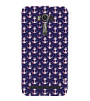 Anchor Pattern Back Cover for Asus Zenfone 2 Laser ZE550KL