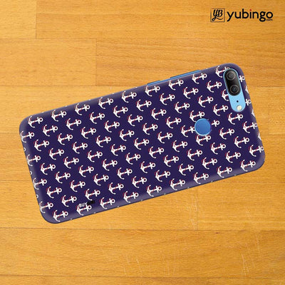 Anchor Pattern Back Cover for Huawei Honor 9 Lite-Image3