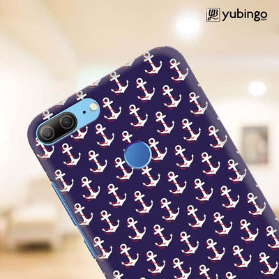 Anchor Pattern Back Cover for Huawei Honor 9 Lite-Image4