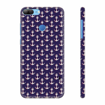 Anchor Pattern Back Cover for Huawei Honor 9 Lite
