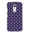 Anchor Pattern Back Cover for Lenovo Vibe X3
