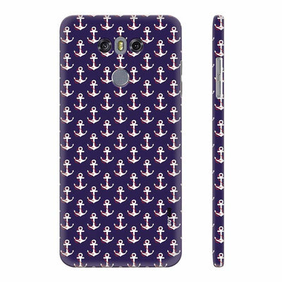 Anchor Pattern Back Cover for LG G6