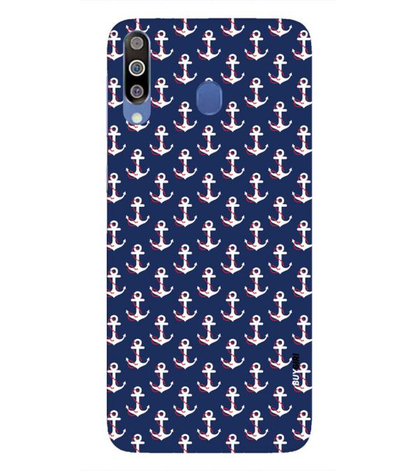 Anchor Pattern Back Cover for Samsung Galaxy M30