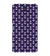 Anchor Pattern Back Cover for Sony Xperia C5