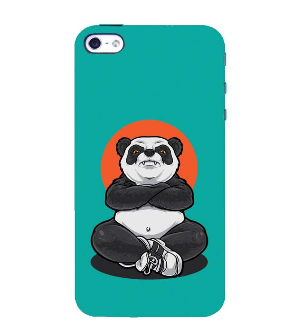Angry Panda Back Cover for Apple iPhone 4 : 4S