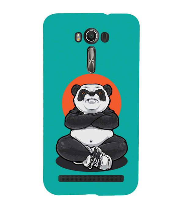 Angry Panda Back Cover for Asus Zenfone 2 Laser ZE550KL
