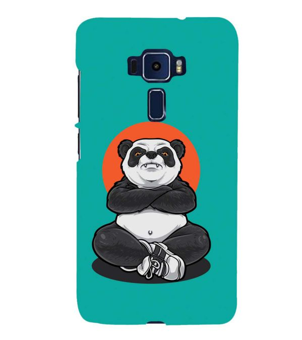 Angry Panda Back Cover for Asus Zenfone 3 Deluxe ZS570KL