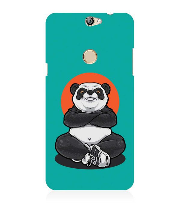 Angry Panda Back Cover for Coolpad Max