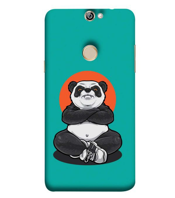 Angry Panda Back Cover for Coolpad Max A8
