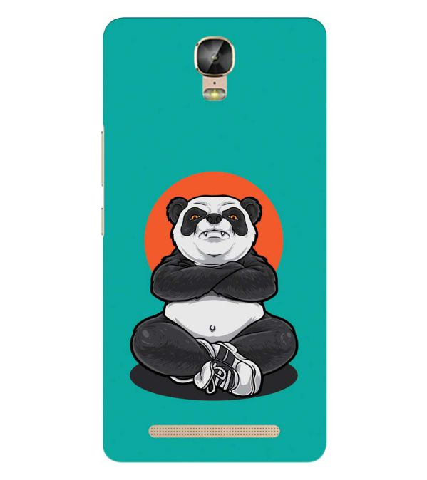 Angry Panda Back Cover for Gionee Marathon M5 Plus