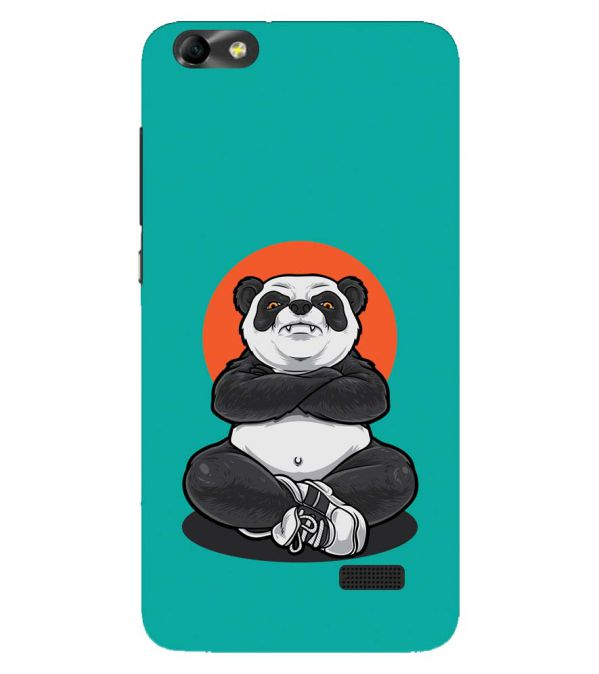 Angry Panda Back Cover for Huawei Honor 4C