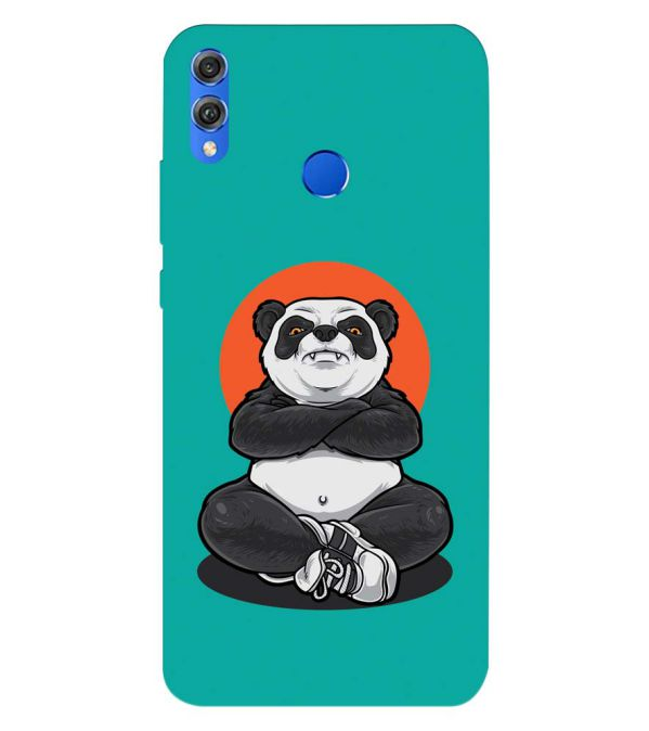 Angry Panda Back Cover for Huawei Honor 8X
